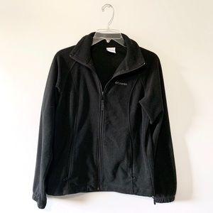 Black Columbia Zip-Up Jacket